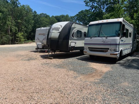 Triangle RV Park NC Storage